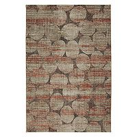Mohawk Home Metropolitan Ellipsis Ginger by Virginia Langley Rug