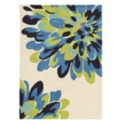 Linon Trio Bloom Floral I Rug
