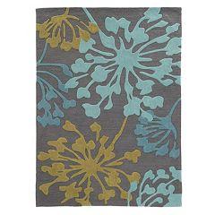 Linon Trio Bold Floral II Rug