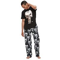Men's Marvel The Punisher Tee & Lounge Pants Set