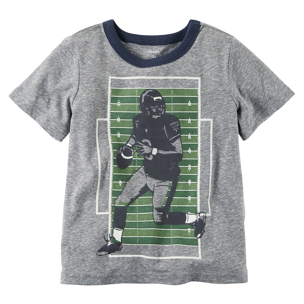 Boys 4-8 Carter's Sporty Graphic Tee