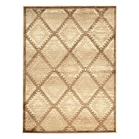 Linon Platinum Santa Fe Lattice Rug