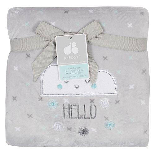Just Born Fleece Baby Blanket