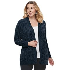 Plus Size SONOMA Goods for Life™ Chenille Cardigan