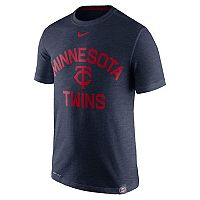 Men's Nike Minnesota Twins Arch Logo Tee