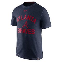 Men's Nike Atlanta Braves Arch Logo Tee