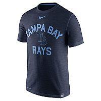 Men's Nike Tampa Bay Rays Arch Logo Tee