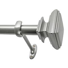 Decopolitan Square Adjustable Curtain Rod
