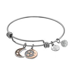 love this life Moon Bangle Bracelet