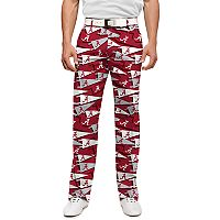 Men's Loudmouth Alabama Crimson Tide Golf Pants