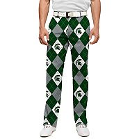 Men's Loudmouth Michigan State Spartans Golf Pants