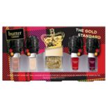 butter LONDON The Gold Standard 5 pc Patent Shine 10X Nail Lacquer Set