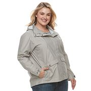 Plus Size Columbia Cherry Creek Hooded Rain Jacket