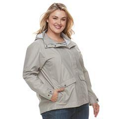 Plus Size Columbia Cherry Creek Hooded Rain Jacket