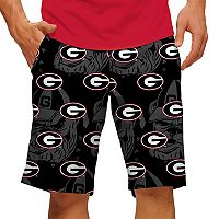 Men's Loudmouth Georgia Bulldogs Golf Shorts