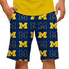 Men's Loudmouth Michigan Wolverines Golf Shorts