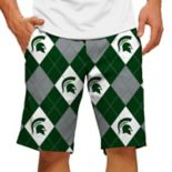 Men's Loudmouth Michigan State Spartans Golf Shorts