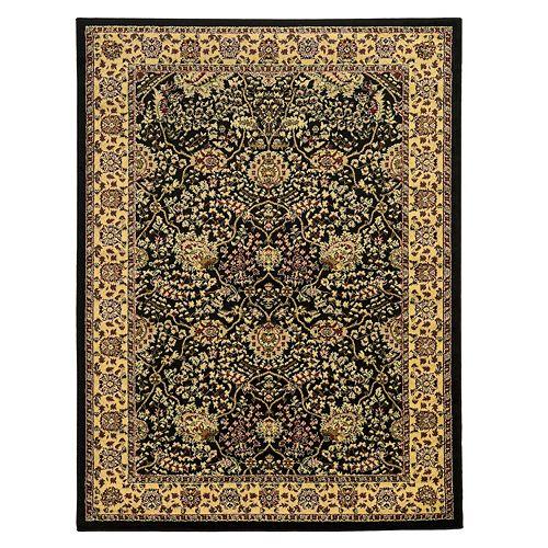 Linon Elegance Zeigler Framed Floral I Rug