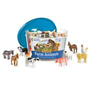 Learning Resources 60 pc Farm Animal Counters