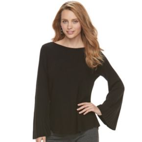 Women's ELLE? Ribbed Boatneck Sweater