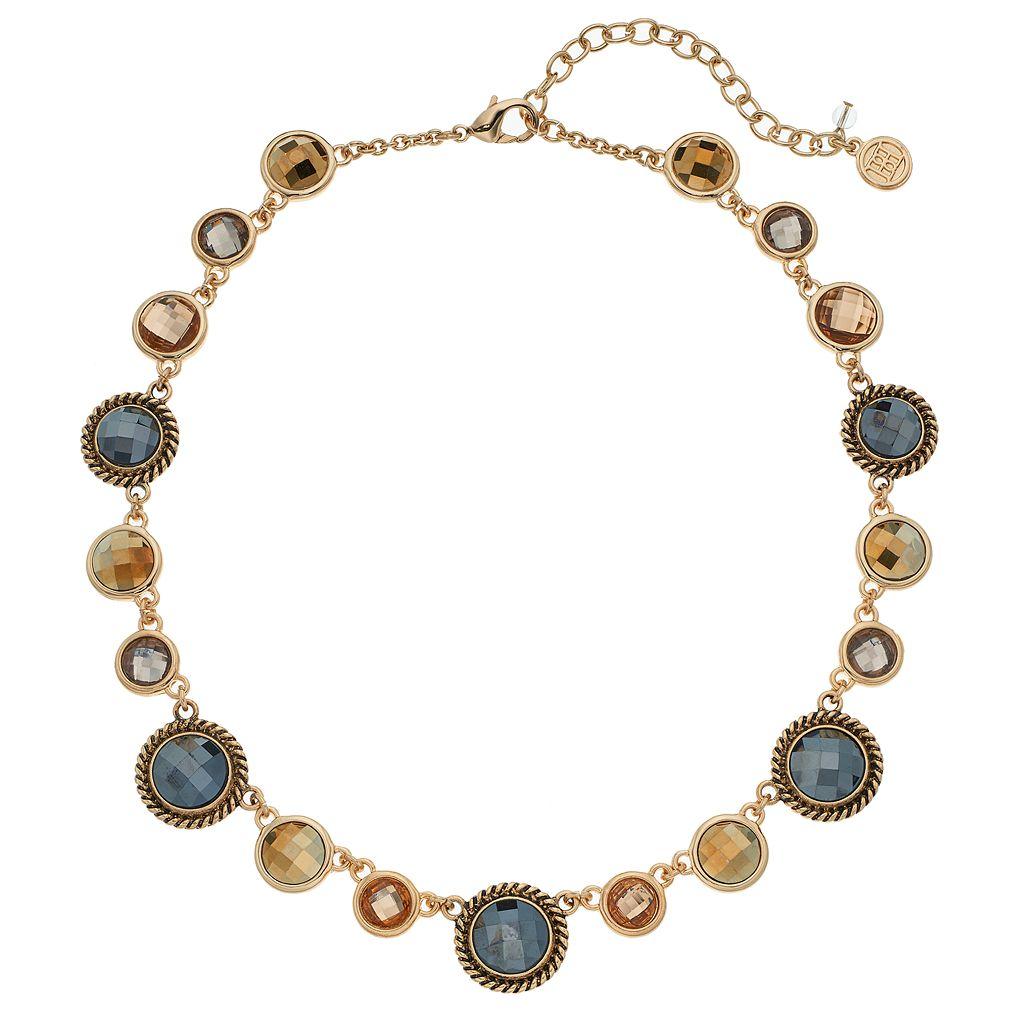 Dana Buchman Round Stone Station Necklace