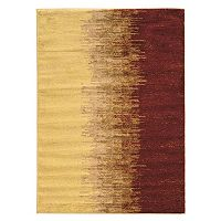 Linon Elegance Lava Abstract Rug