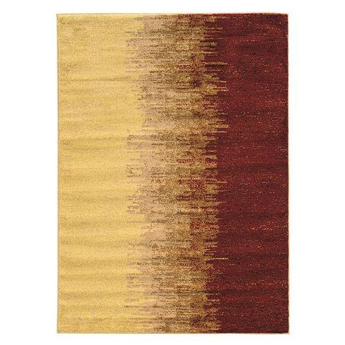 Linon Elegance Lava Abstract Rug