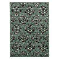 Linon Elegance England Damask Rug