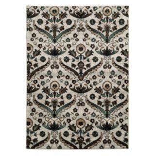 Linon Elegance Chateau Floral Rug