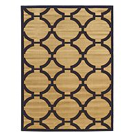 Linon Elegance Connecting Geometric Rug