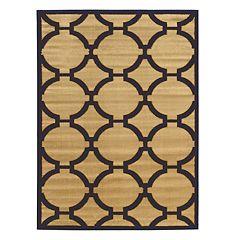 Linon Elegance Connecting Geometric Rug