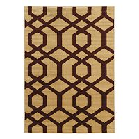Linon Elegance New Geo Lattice Rug