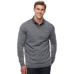 Big & Tall Apt. 9® Regular-Fit Wool-Blend Merino Sweater