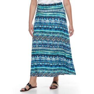 French Laundry Plus Size Maxi Skirt
