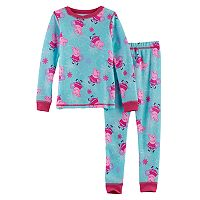 Toddler Girl Cuddl Duds Peppa Pig 2-pc.Thermal Base Layer Top & Pants Set
