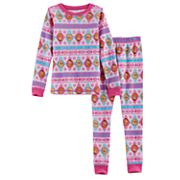Disney's Frozen Toddler Girl 2 pc Elsa & Anna Thermal Base Layer Top & Pants Set by Cuddl Duds