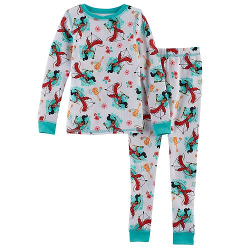 Disney's Elena of Avalor Toddler Girl 2-pc. Thermal Base Layer Top & Pants Set by Cuddl Duds