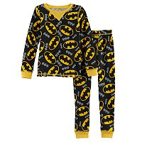 Toddler Boy Cuddl Duds DC Comics Batman 2-pc. Thermal Base Layer Top & Pants Set
