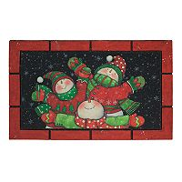 Mohawk® Home Three Joyful Snowmen Holiday Doormat - 18