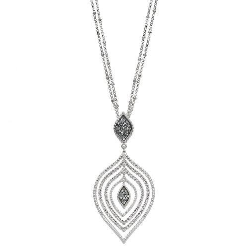 Dana Buchman Marquise Pendant Necklace