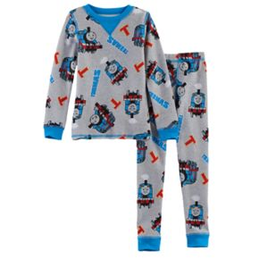 Toddler Boy Cuddl Duds Thomas The Train 2-pc. Thomas Thermal Base Layer Top & Pants Set