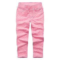 Toddler Girls Levi's® Pink Acid Wash Leggings