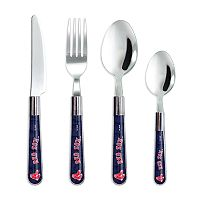 Boston Red Sox 16-Piece Flatware Set