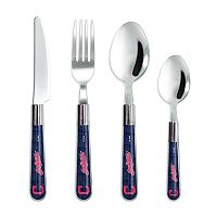 Cleveland Indians 16-Piece Flatware Set