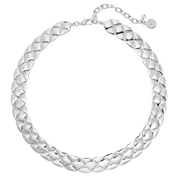 Dana Buchman Quilted Necklace