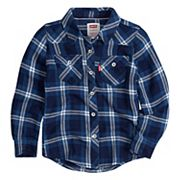 Toddler Girl Levi's Western Plaid Shirt