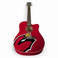 Woodrow Arizona Cardinals Acoustic Guitar