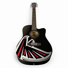 Woodrow Atlanta Falcons Acoustic Guitar
