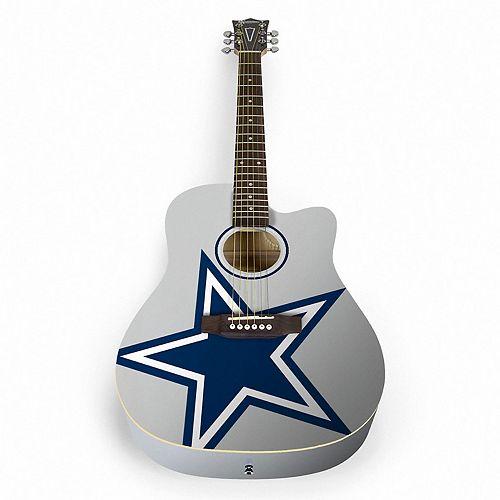 woodrow dallas cowboys acoustic guitar. Black Bedroom Furniture Sets. Home Design Ideas