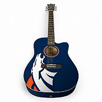Woodrow Denver Broncos Acoustic Guitar